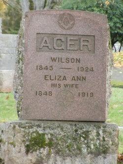 Eliza Ann <i>Weiler</i> Ager