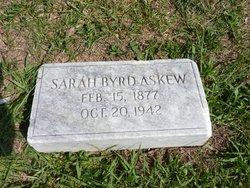 Sarah <i>Byrd</i> Askew