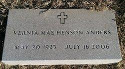Vernia Mae <i>Henson</i> Anders