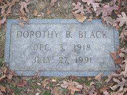 Dorothy B Black