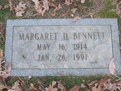 Margaret D Bennett