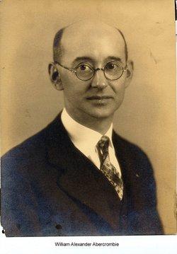 William Alexander Abercrombie