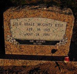 Lela Adale <i>McGinty</i> Kyle