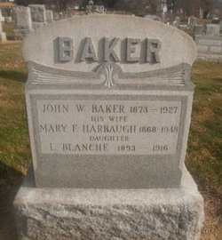 Mary Fannie <i>Harbaugh</i> Baker