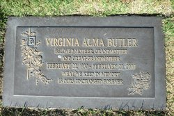 Virginia Alma Ginny <i>Rust</i> Butler