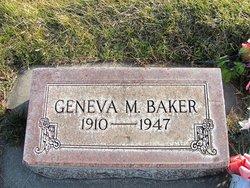 Geneva Margaret <i>Howland</i> Baker