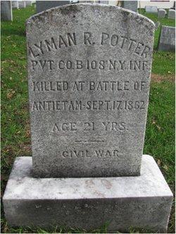 Pvt Lyman Potter