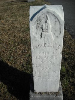 Priscilla E. <i>Jackson</i> Acree