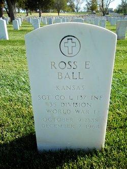 Ross E Ball