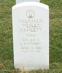 Thurman Wesley Hamlett