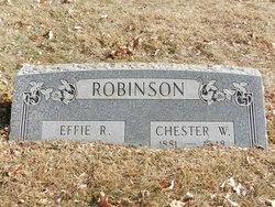 Chester White Robinson
