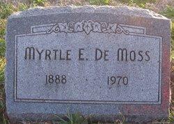 Myrtle E DeMoss