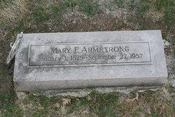 Mary Frances <i>Keziah Butler</i> Armstrong