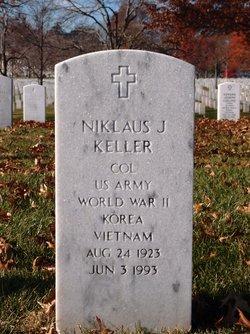 Col Niklaus J Keller