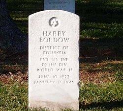 Harry Bordow