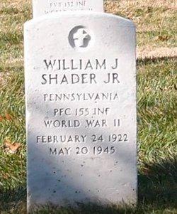 William J Shader, Jr.