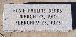 Elsie Pauline Berry