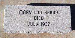 Mary Lou Berry