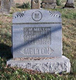 Catherine E. Kate <i>Hobbs</i> Melton