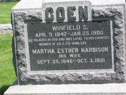 Martha Esther <i>Harbison</i> Coen