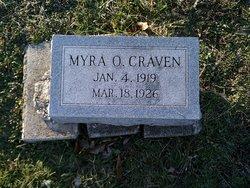 Myra O. Craven