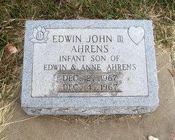 Edwin John Ahrens, III