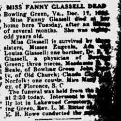 Fanny <i>Ware</i> Glassell