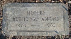 Bessie May <i>Munroe</i> Abrons