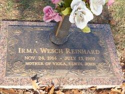 Irma <i>Wesch</i> Reinhard