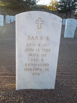 Sara E Heredia