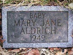 Baby Mary Jane Aldrich