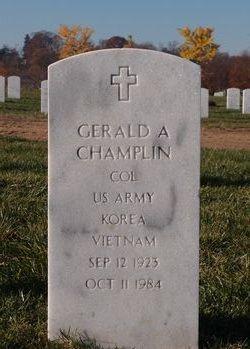 Gerald A Champlin