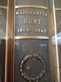 Margaretta Hunt