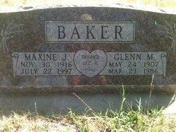 Maxine J Baker