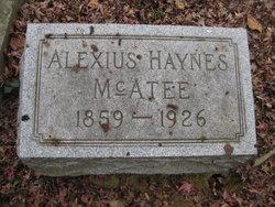 Alexius Haynes McAtee, Sr