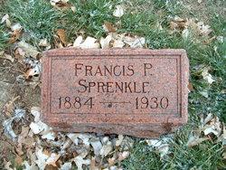 Francis Peter Frank Sprenkle
