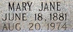 Mary Jane Mollie <i>Clark</i> Inman