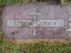 Etta L <i>Jones</i> McGurren