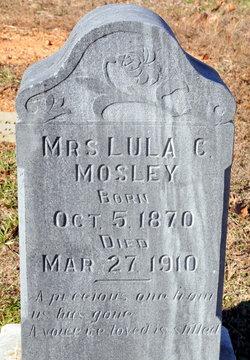 Lula Catherine <i>Smith</i> Mosley