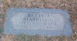 Betty Aljean <i>Sturm</i> Harrison
