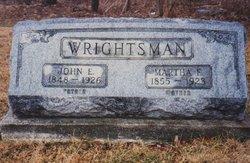 Martha Ellen <i>Rakestraw</i> Wrightsman