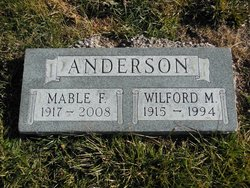 Mable F <i>Williams</i> Anderson