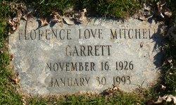 Florence Love Mitchell Garrett