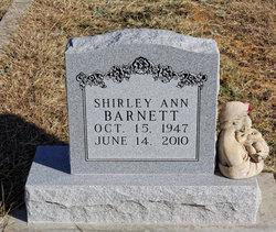 Shirley Ann Barnett