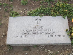 Maud <i>Scharf</i> Dickerson