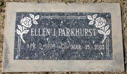 Ellen Jeanette Parkhurst