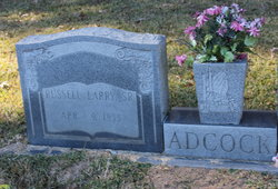 Russell Larry Adcock, Sr