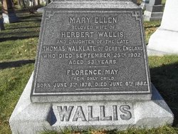 Mary Ellen <i>Walklate</i> Wallis