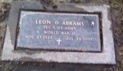 Leon D Abrams