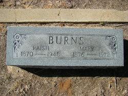 Mary Arnie <i>Stanley</i> Burns